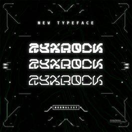 ZYXROCK Typeface